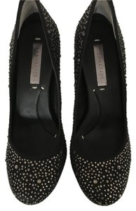 BCBGMAXAZRIA Fun Dressy Black w/Stones Pumps