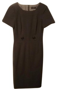 Tahari Gray Work Dress