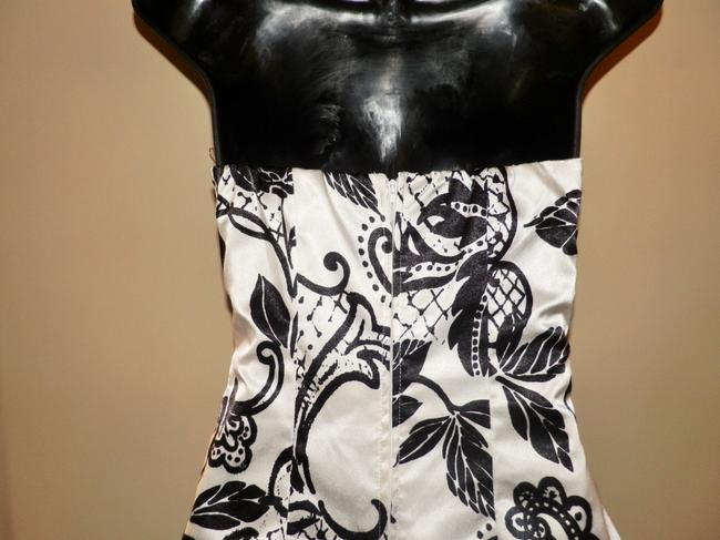My Michelle Strapless Lined Ruffled Corsetted Dress