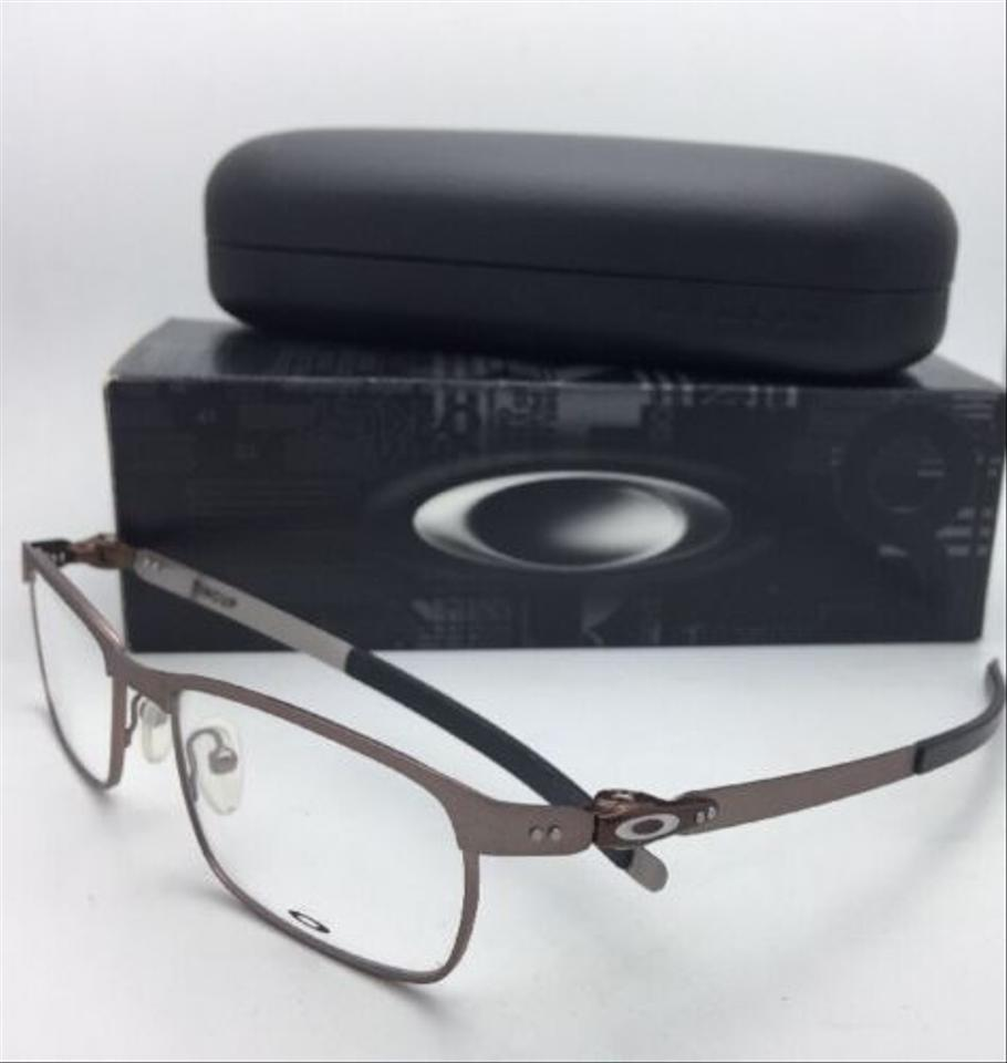 13e7f8cf83 Oakley New OAKLEY Eyeglasses TINCUP OX3184-0352 52-17 135 Powder Toast  Brown. 123456789101112