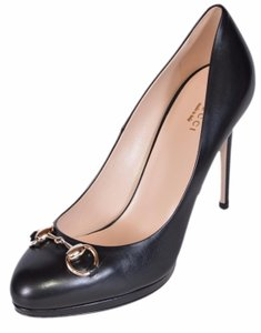 Gucci Work Stiletto Black Pumps