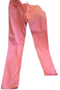 Lilly Pulitzer Spring Pink Skinny Jeans-Coated