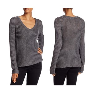360 Sweater Silk Blend Linen Blend Scoop Neck Sweater