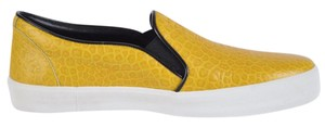 Burberry Sneakers Sneakers Rubber Yellow and White Flats