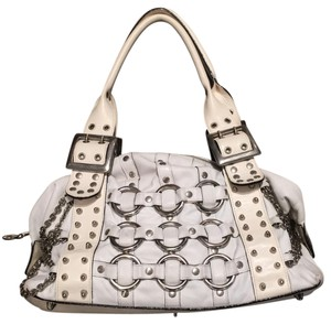 Be&D Satchel in White