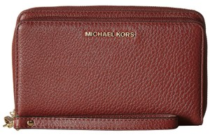 MICHAEL Michael Kors Michael Kors Brick Leather Adele Multifunction Phone Case Wallet