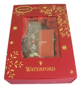 Waterford Waterford Crystal Star Ornament Christmas New In Box