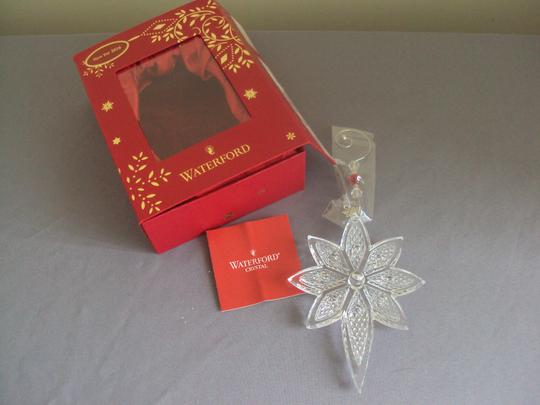 Waterford Waterford Crystal Star Ornament Christmas New In Box Image 4