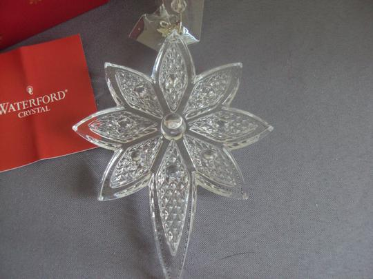 Waterford Waterford Crystal Star Ornament Christmas New In Box Image 5