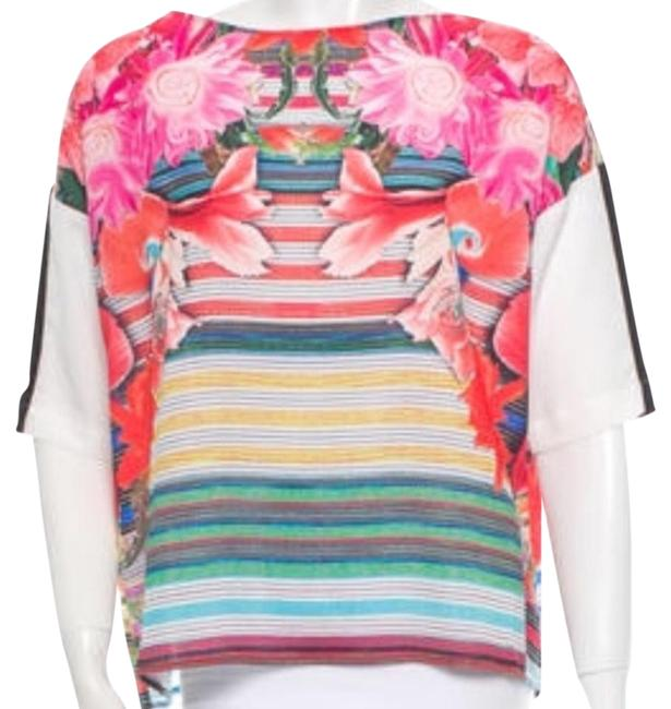 Preload https://img-static.tradesy.com/item/21153559/clover-canyon-pink-blue-white-black-purple-red-yellow-green-colorful-blouse-size-8-m-0-1-650-650.jpg