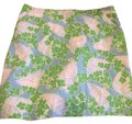 Lilly Pulitzer Blue White with Green Collection Skirt Size 4 (S, 27) Lilly Pulitzer Blue White with Green Collection Skirt Size 4 (S, 27) Image 1