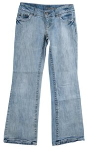 American Eagle Outfitters Light Wash Boot Cut Jeans-Light Wash