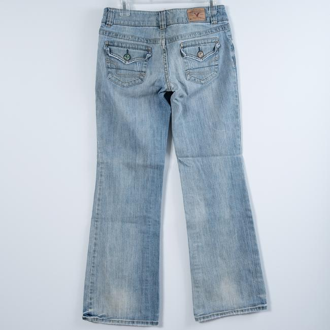American Eagle Outfitters Light Wash Boot Cut Jeans-Light Wash Image 1