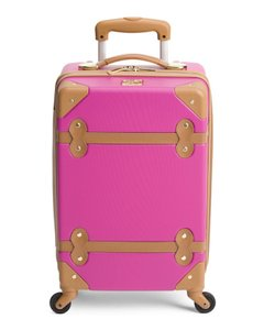 Diane von Furstenberg Dfv Spinner Lightweight Handluggage 18' Beet Travel Bag