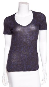 Isabel Marant Top Navy & Black