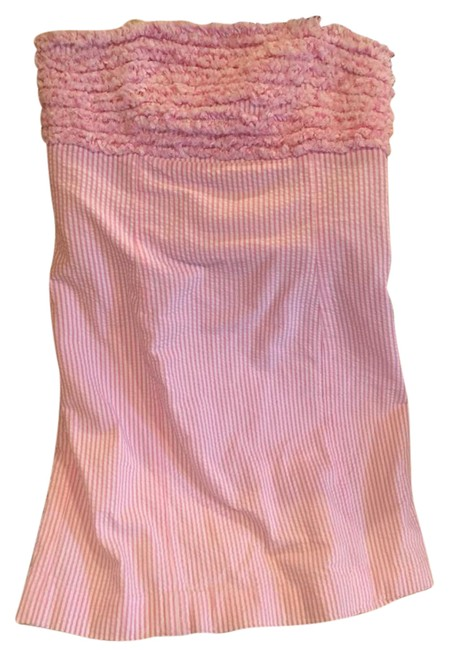 Preload https://img-static.tradesy.com/item/21153735/lilly-pulitzer-white-and-pink-seersucker-strapless-short-casual-dress-size-4-s-0-1-650-650.jpg