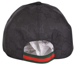 Gucci Black Guccissima Baseball Cap