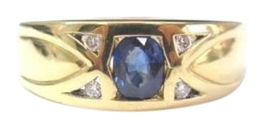 Other Fine Gem Sapphire Diamond Jewelry Ring 18KT Image 0