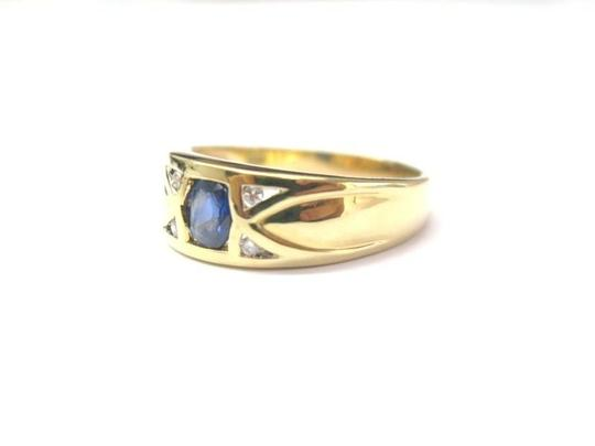 Other Fine Gem Sapphire Diamond Jewelry Ring 18KT Image 1