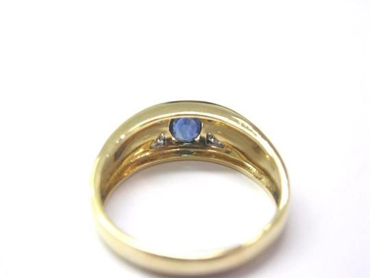 Other Fine Gem Sapphire Diamond Jewelry Ring 18KT Image 2