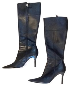Kate Spade Leather Black Boots