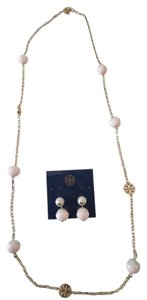 Tory Burch Tory Burch Evie Dipped Necklace and Earrings
