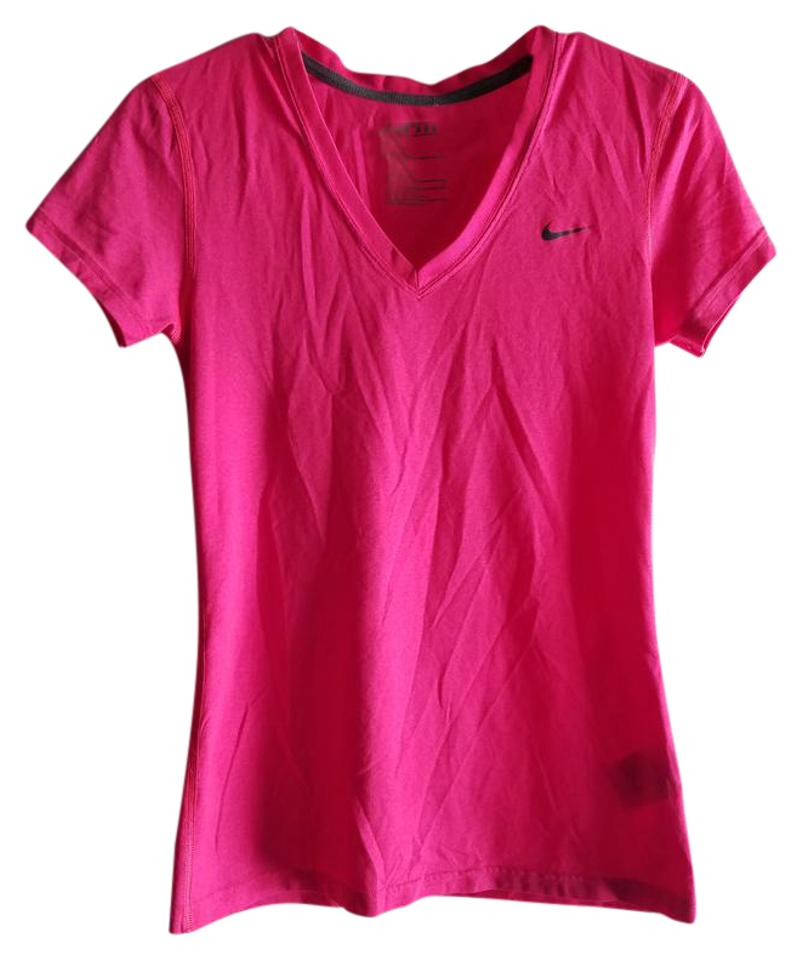 e9177e0bb2c56 Nike Hot Pink Dri-fit Activewear Top Size 6 (S
