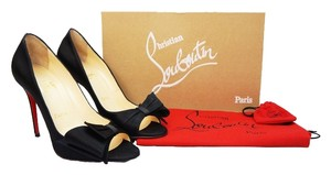 Christian Louboutin Just Soon 100mm 7 Black Pumps