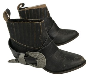 Matisse Leather Buckle Vintage Understatedleather Black Boots