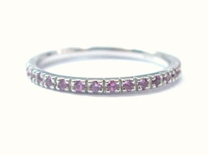 Other Fine Gem Pink Sapphire Eternity Ring .40CT Sz 6