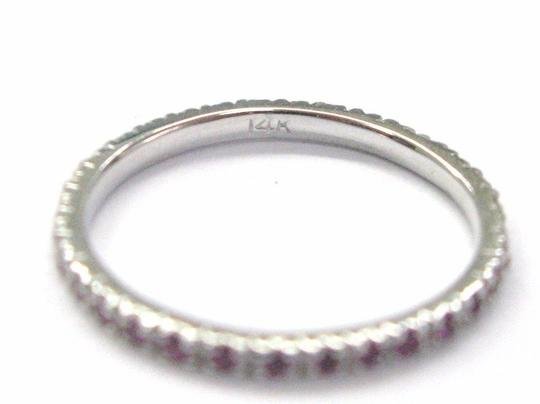 Other Fine Gem Pink Sapphire Eternity Ring .40CT Sz 6 Image 1