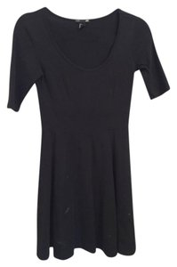 H&M short dress Black Skater 3/4 Sleeves on Tradesy