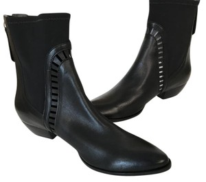Matisse Cut-out Leather Neoprene Western City Boots