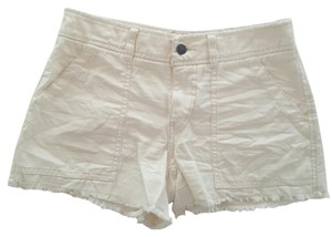 Free People Cut Off Shorts Off white