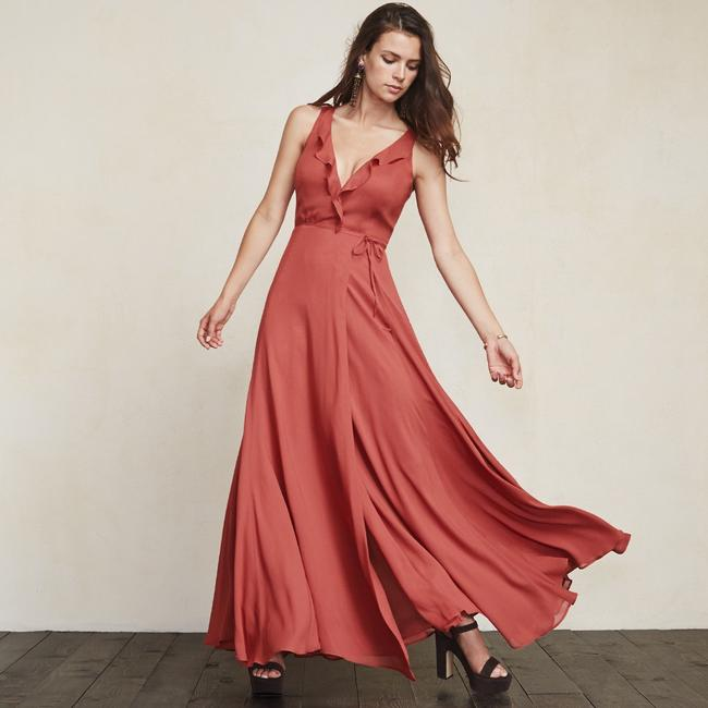 strawberry Maxi Dress by Reformation Image 1