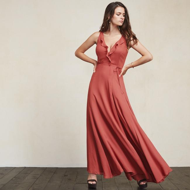 strawberry Maxi Dress by Reformation Image 6