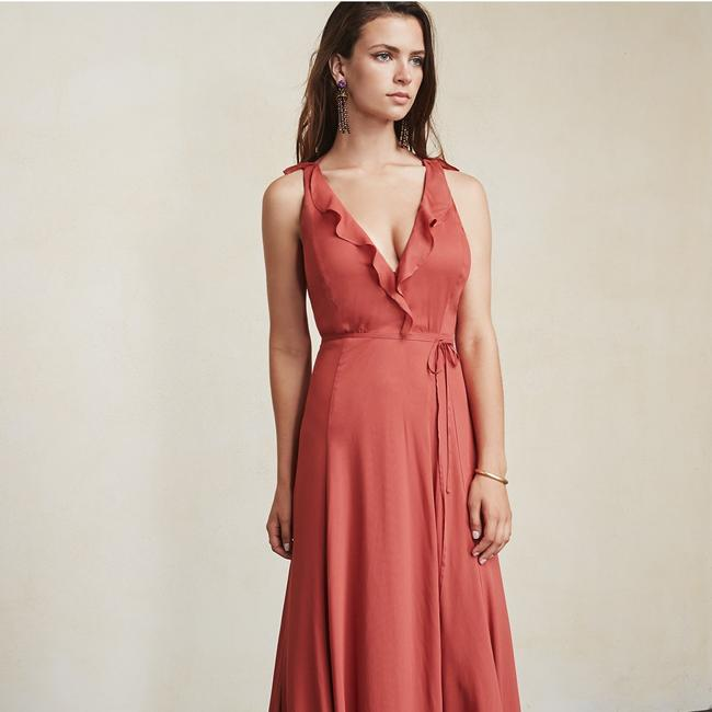 strawberry Maxi Dress by Reformation Image 7
