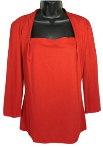 Lafayette 148 New York Top Red