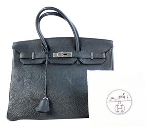 Hermès Birkin 35 Birkin Togo Birkin So Birkin Satchel in Black