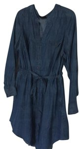 New Denim Dress short dress denim blue on Tradesy