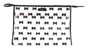 Kate Spade * Kate Spade Large Heddy Tuxedo Court Cosmetic Bag