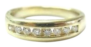 Other Fine Man's Thick Diamond Wedding Jewelry Band Ring 14KT