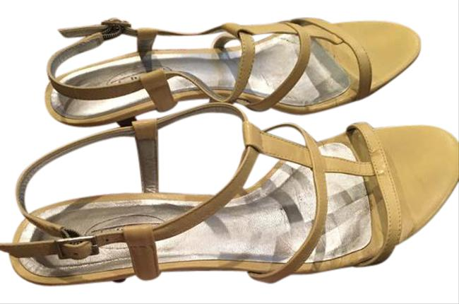 Item - Yellow Eden Sandals Size US 7.5 Regular (M, B)