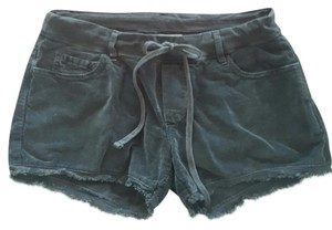 James Perse Cut Off Shorts Charcoal