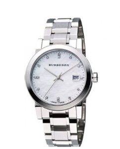 Burberry new in the box Burberry Diamond Accent Stainless Steel Ladies Watch