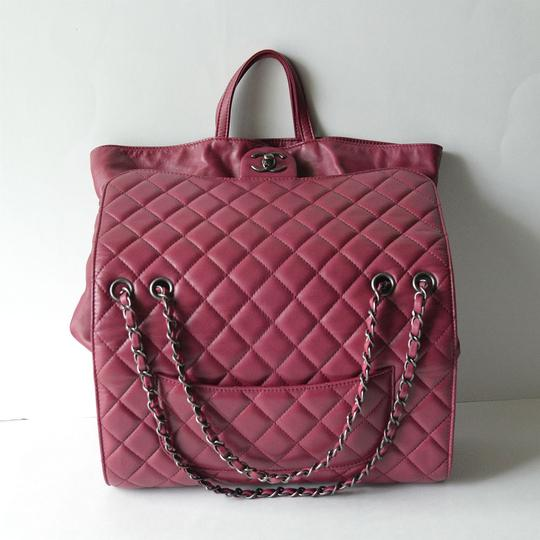 Chanel Quilted Flap Lambskin Maxi Jumbo Flap Shoulder Bag
