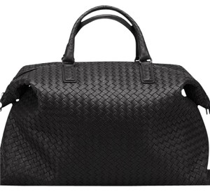 Bottega Veneta Leather Brunito Finish Shoulder Bag