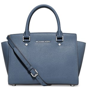 Michael Kors Satchel in Denim Blue
