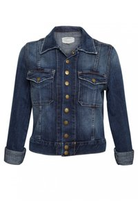Current/Elliott Denim Coat Summer Womens Jean Jacket