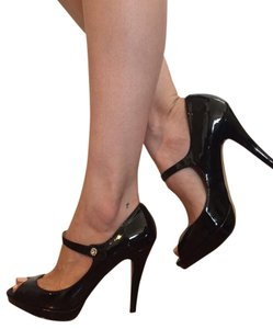 Steven by Steve Madden Jewel black patent Pumps